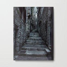 Streets of Cinque Terre Metal Print