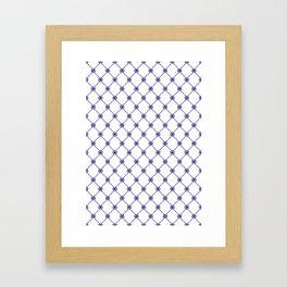 Folk pattern II Framed Art Print