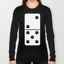 White Domino / Domino Blanco Long Sleeve T-shirt
