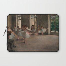Classical Masterpiece 'The Ballet Rehearsal' by Edgar Degas Laptop Sleeve