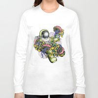 spaceman Long Sleeve T-shirts featuring SPACEMAN by • PASXALY •