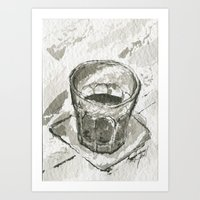 whiskey Art Prints featuring Whiskey by Matthew Hall
