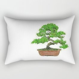 Japanese Bonsai Tree Rectangular Pillow