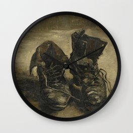 Vincent van Gogh - Boots Wall Clock