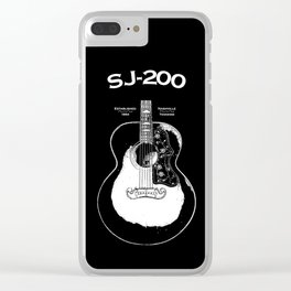 SJ-200 Acoustic Guitar 1948 Clear iPhone Case
