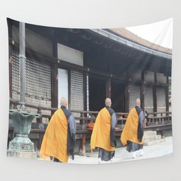 3 Monks Wall Tapestry
