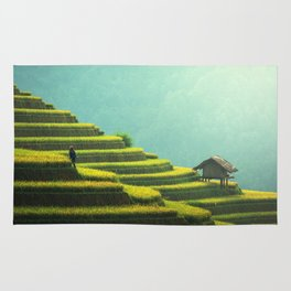 Asian agriculture Rug