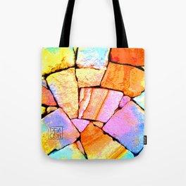 Sandstone wall Deacon PE Tote Bag