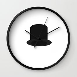 top-hat Wall Clock