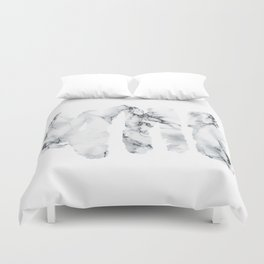 Marble stains Duvet Cover