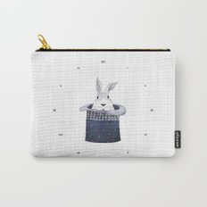 Mr. Rabbit and the Mad Hatter hat Carry-All Pouch