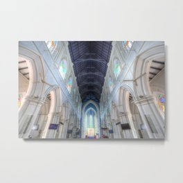 St Andrews Cathedral Singapore Metal Print