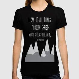 I CAN // Philippians 4:13 T-shirt