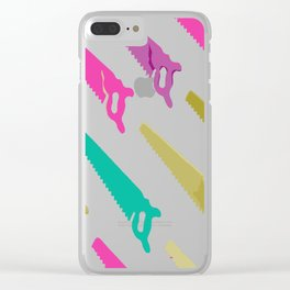 saw Clear iPhone Case