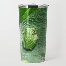 Green Camouflage in the Arrowheads Travel Mug