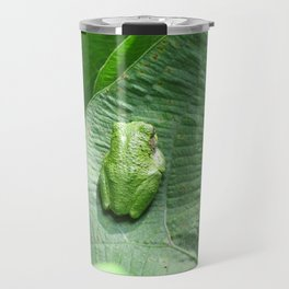 Green Camouflage in the Arrowheads Travel Mug