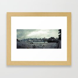 Vancouver Panorama 1 Framed Art Print