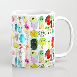 Rainbow Microbes Coffee Mug