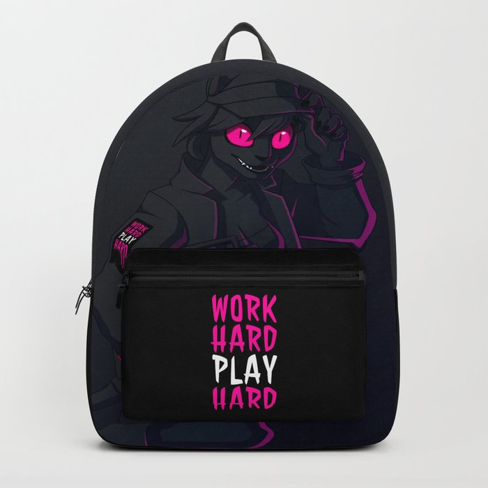 Play Hard After Dark Backpack by ljames  10963c729b1a7
