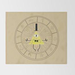 Bill Cipher summoning Throw Blanket