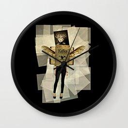 Mrs. Kafka Wall Clock