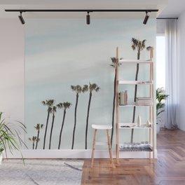 Rainbow Palms Wall Mural