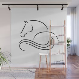 horse horse horse love animal love gift rider equestrian sport Wall Mural