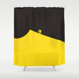 Yellow Jersey I Tour de France Shower Curtain