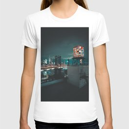 The Water Tower New York City (Color) T-shirt