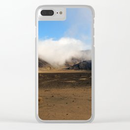 Tongariro Volcanic Landscape - New Zealand Clear iPhone Case