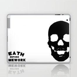 Death Before Homework Laptop & iPad Skin