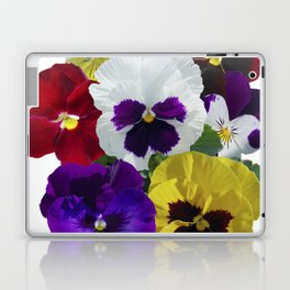 Pansies! Laptop & iPad Skin
