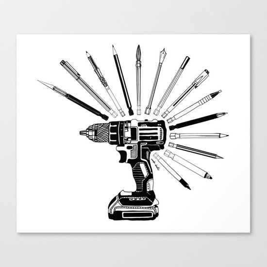Power Tools Canvas Print