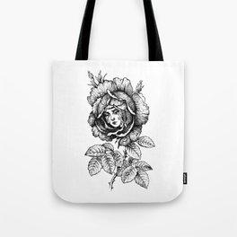 Sad Rose Tote Bag