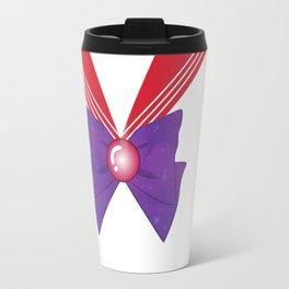 Galactic Sailor Mars Bow Travel Mug