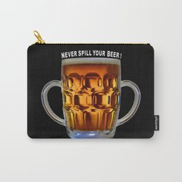 Never Spill Your Beer Carry-All Pouch