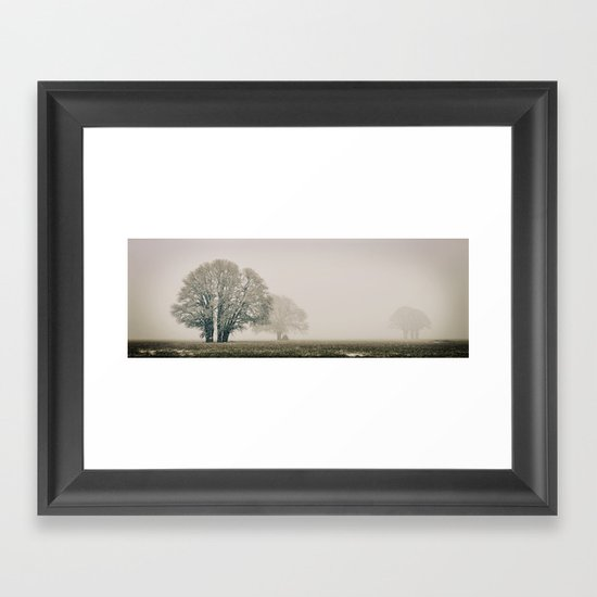 Enduring Winter Framed Art Print