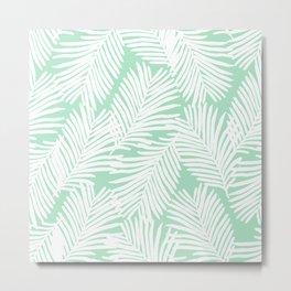 Areca Palm minimal tropical house plants minimalism art print zen chill decor Metal Print