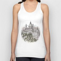 budapest Tank Tops featuring Budapest Art by Daria Kotyk
