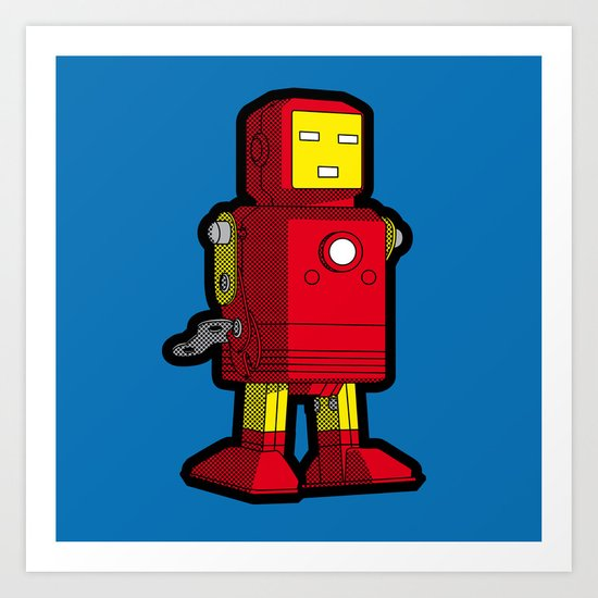 Iron Toy Art Print