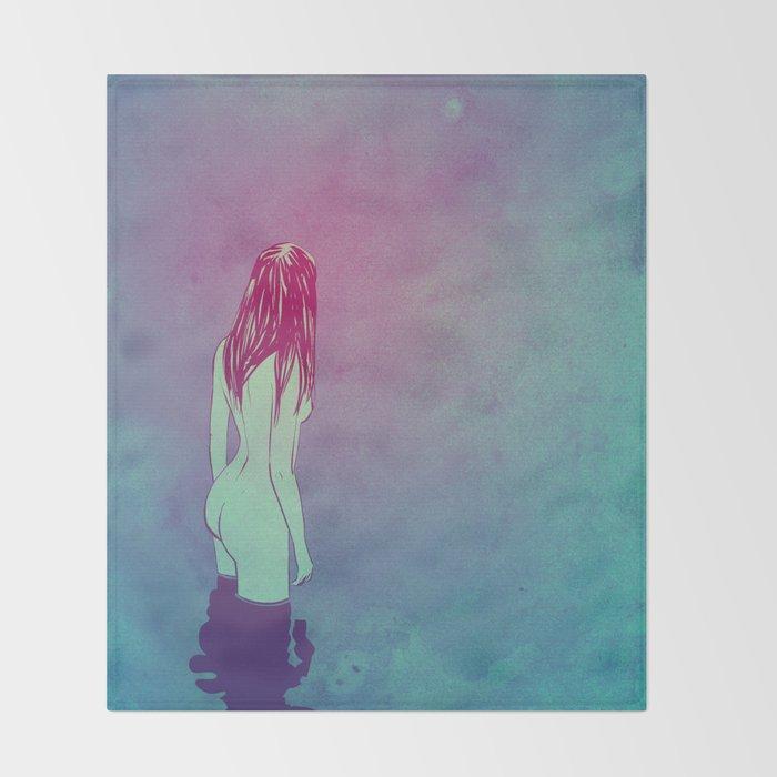 Skinny Dipping Throw Blanket