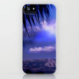 SUNDOWN IN PALM SPRINGS iPhone Case