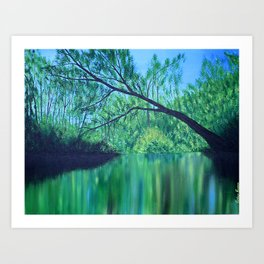 Backwaters Art Print