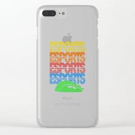 Vintage Esports Cascade Clear iPhone Case