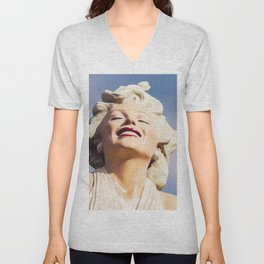 0243 Forever Marilyn - Seven Year Itch - Monroe Unisex V-Neck