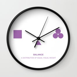 Design Principle ONE - Balance Wall Clock