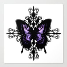 Gothic Butterfly Canvas Print