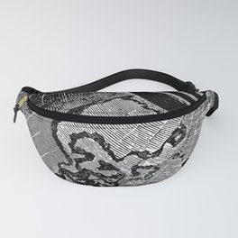 Symmes's Theory of Concentric Spheres Fanny Pack