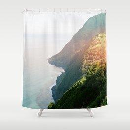 Green Coast Shower Curtain