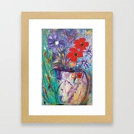 Vase of Love Framed Art Print